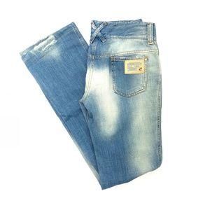 [Dolce & Gabbana] destructed flare jeans #V01